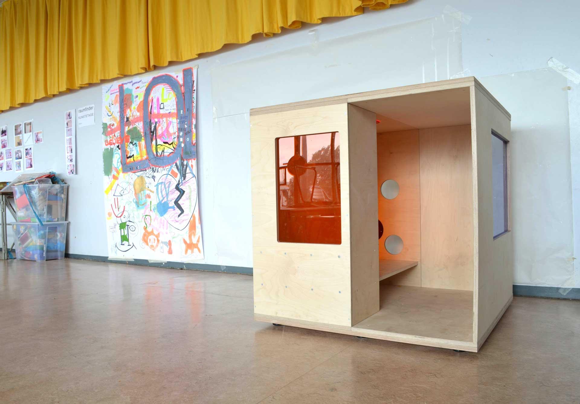 Rückzugsräume an der Wilhelm-von-Humboldt-Gemeinschaftsschule in Berlin
