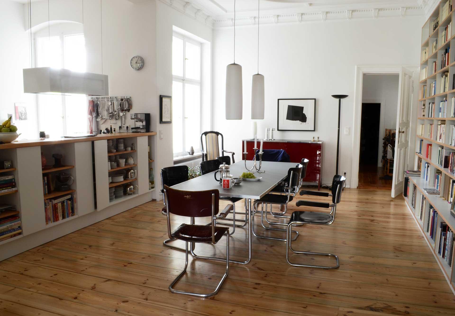 Wohnungsumbau in Berlin
